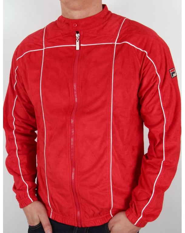 Fila Vintage Terrinda Mk3 Track Top Red