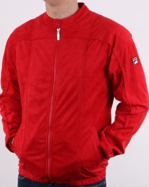 Fila Vintage Terrinda Mk3 Track Top True Red