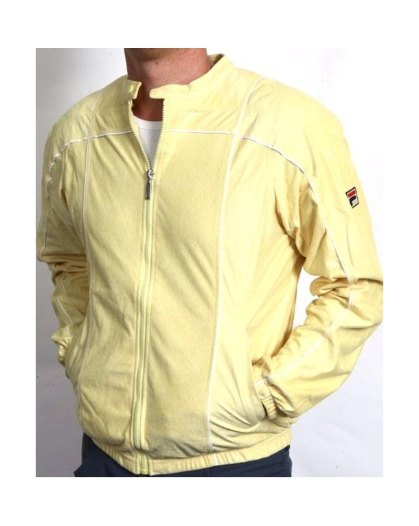 Fila Vintage Terrinda Mk3 Track Top Yellow