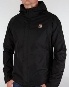 Fila Vintage Tivo Technical Jacket Black