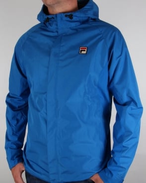 Fila Vintage Tivo Technical Jacket Ski Blue