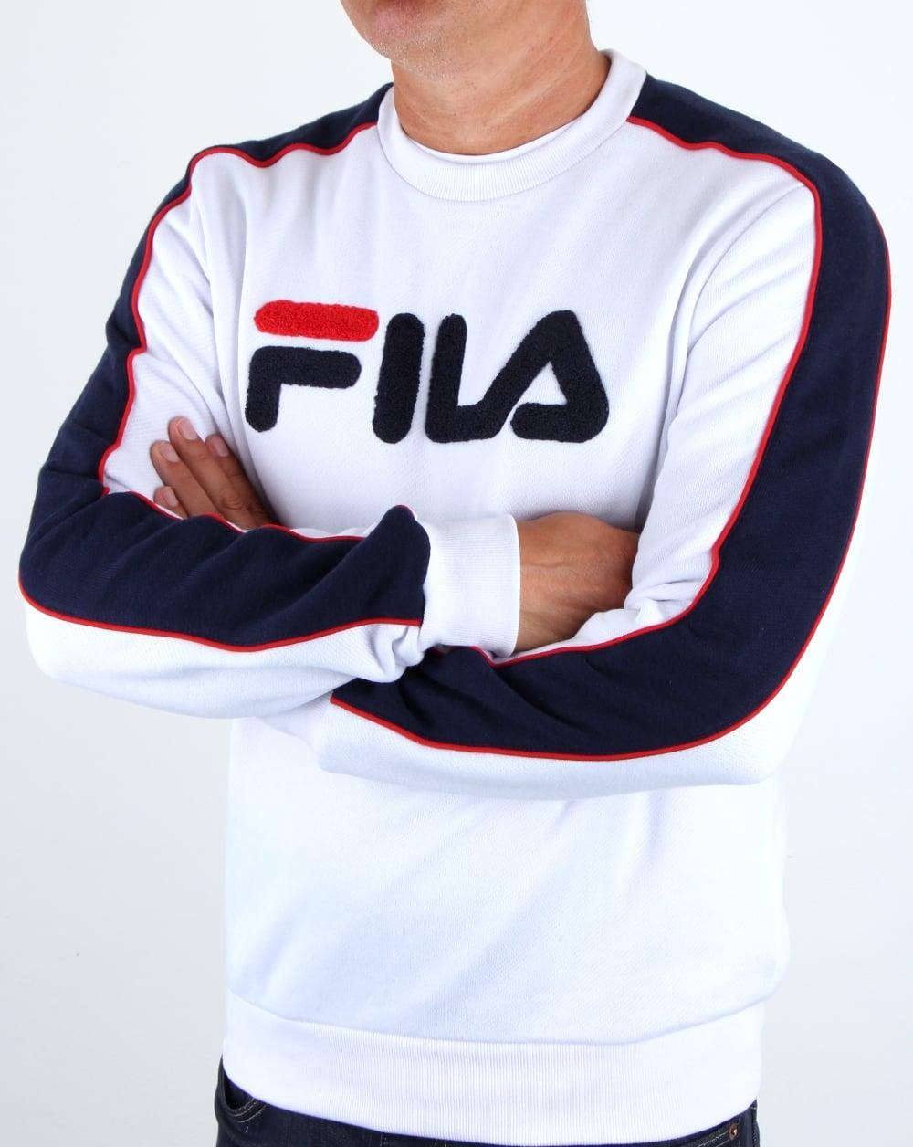 Fila Mens Colona Pullover Sweatshirt