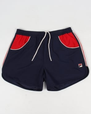 Fila Vintage Tomas Swim Beach Shorts Navy