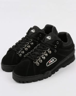 Fila Vintage Trailblazer Suede Boots Black