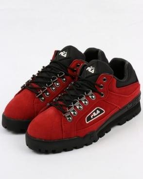 Fila Vintage Trailblazer Suede Boots Red