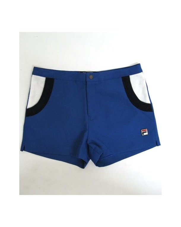 Fila Vintage Valcroz Shorts Royal Blue/navy/white