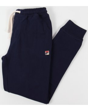 Fila Vintage Vico Cuffed Track Bottoms Navy