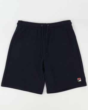 Fila Vintage Viktor Fleece Shorts Navy