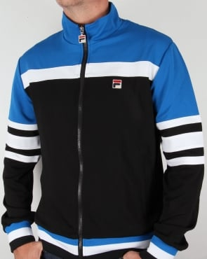 Fila Vintage Vila Track Jacket Black/Royal