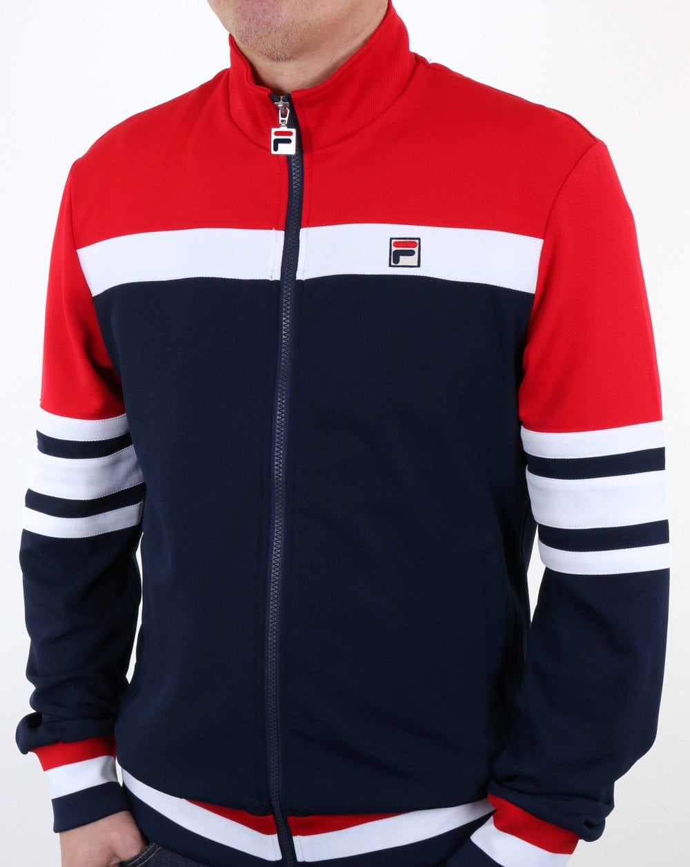 d549e9ef124 Fila Vintage Vilas Track Jacket Navy/Red/White The business | 80s ...