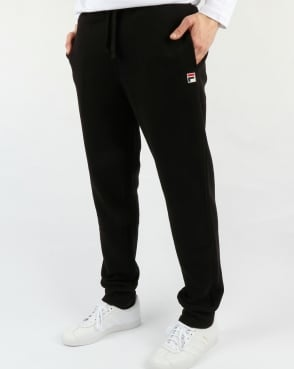 Fila Vintage Visconti Track Pants Black