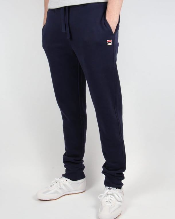 Fila Vintage Visconti Track Pants Navy Blue Tracksuit