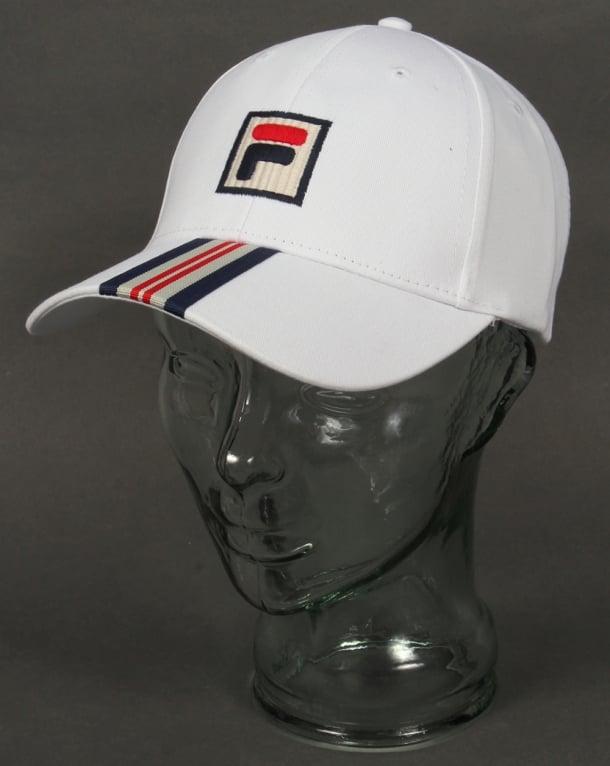 Fila Vintage Walker Baseball Cap White