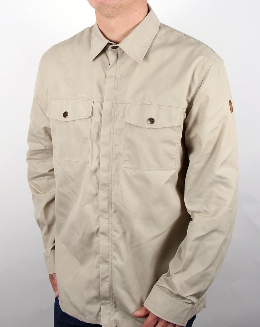 online store b80de 672da Fjallraven G-1000 Shirt Limestone