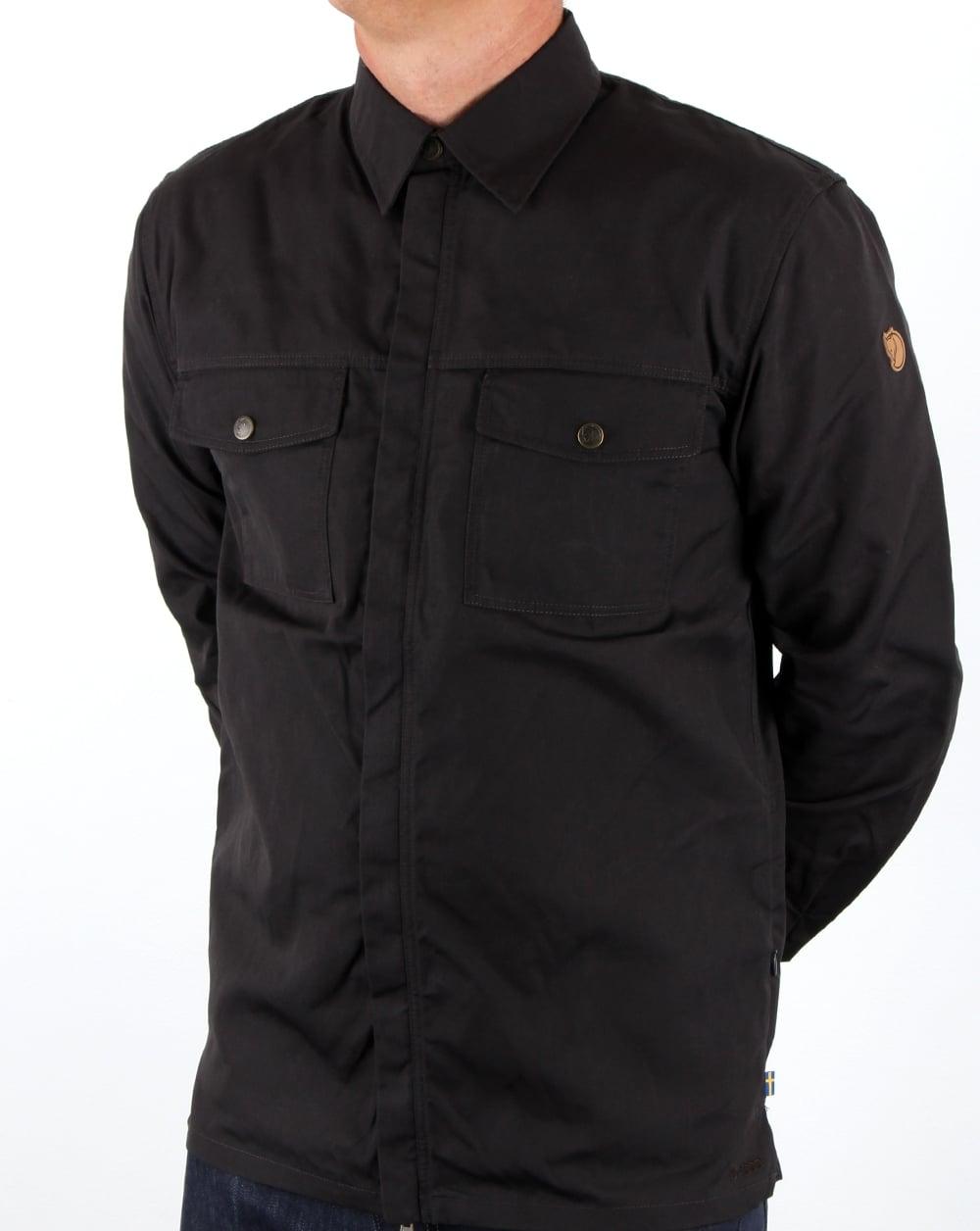 outlet store 5271b bd2f4 Fjallraven G1000 Shirt Dark Grey