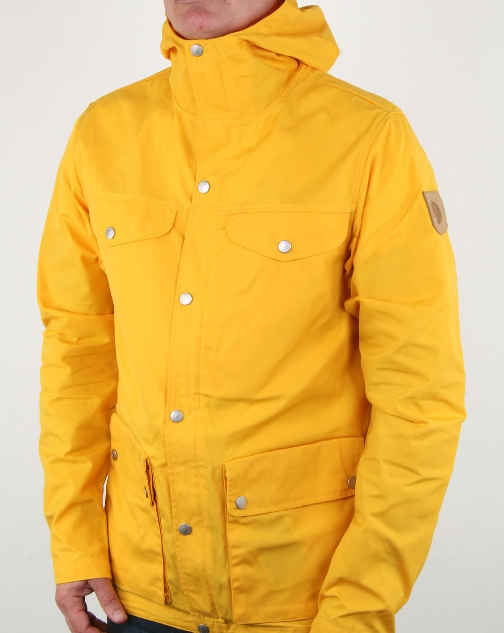 Fjallraven Greenland Jacket Dandelion Mens Coat Jacket