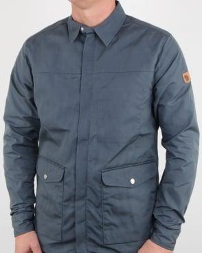 Fjallraven Greenland Shirt Jacket Dusk
