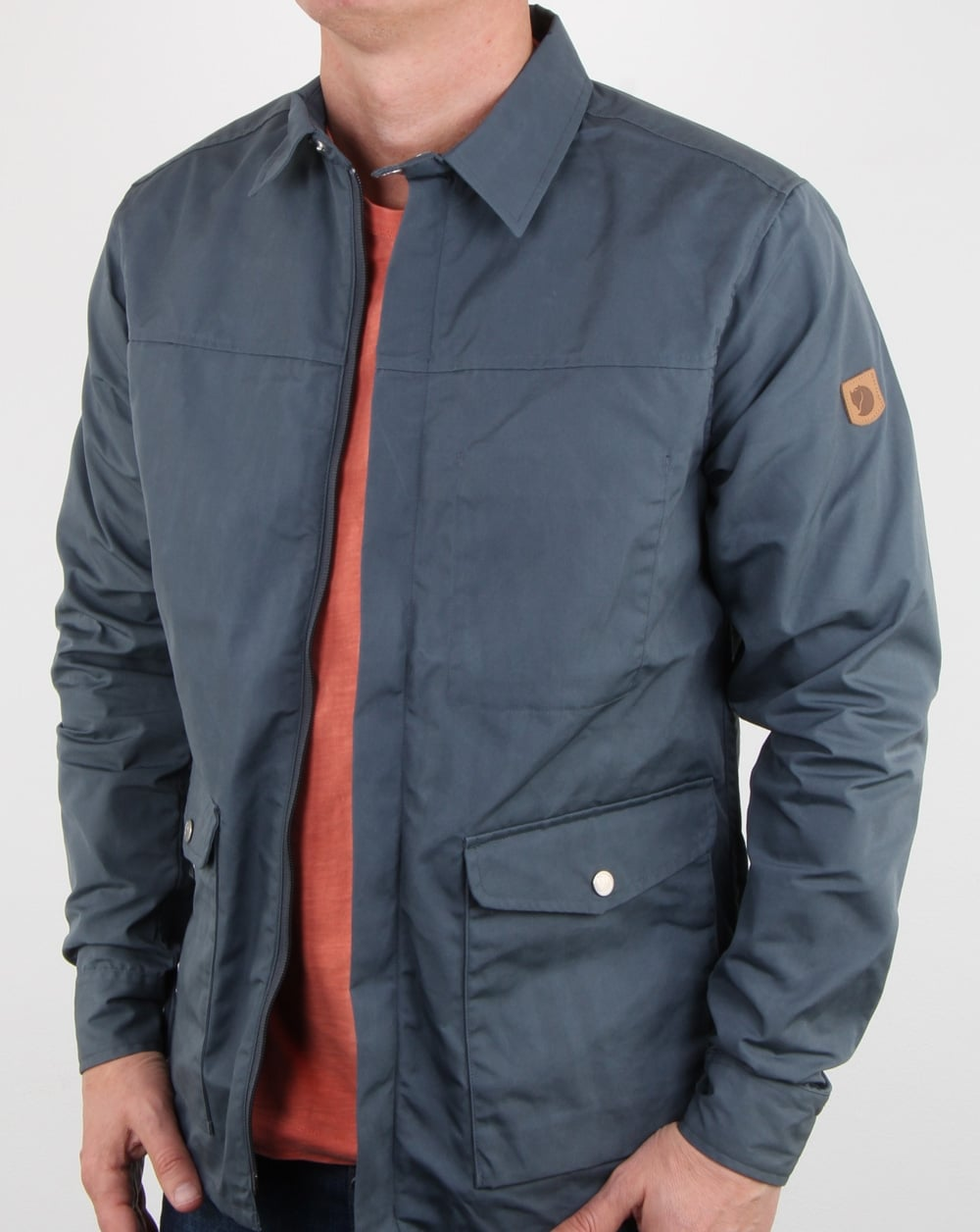 Fjallraven Greenland Shirt Jacket Dusk, Mens, Jacket, Shirt