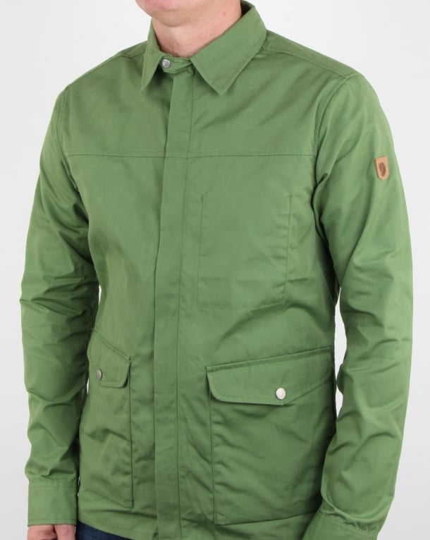 Fjallraven Greenland Shirt Jacket Fern