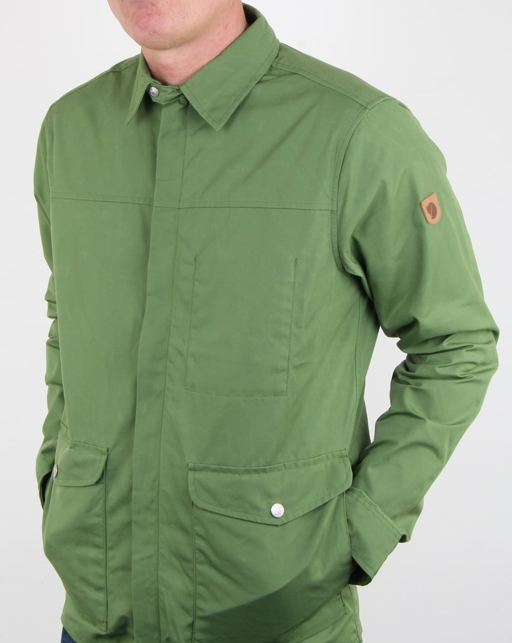 Fjallraven Greenland Shirt Jacket Fern, Mens, Shirt, Jacket, Pockets