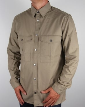 Fjallraven Greenland Shirt Light Khaki