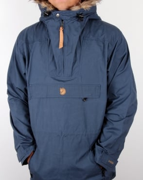 Fjallraven Gutulia Anorak Uncle Blue