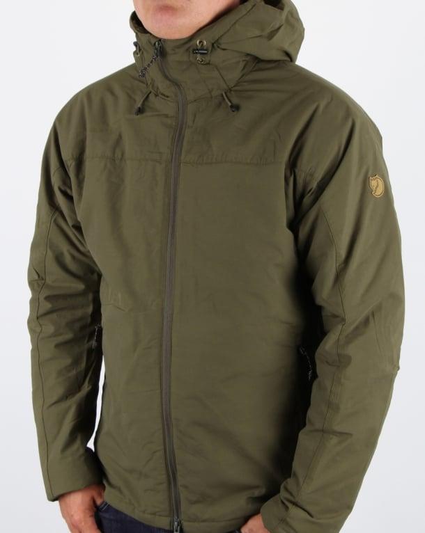 Fjallraven High Coast Padded Jacket Khaki