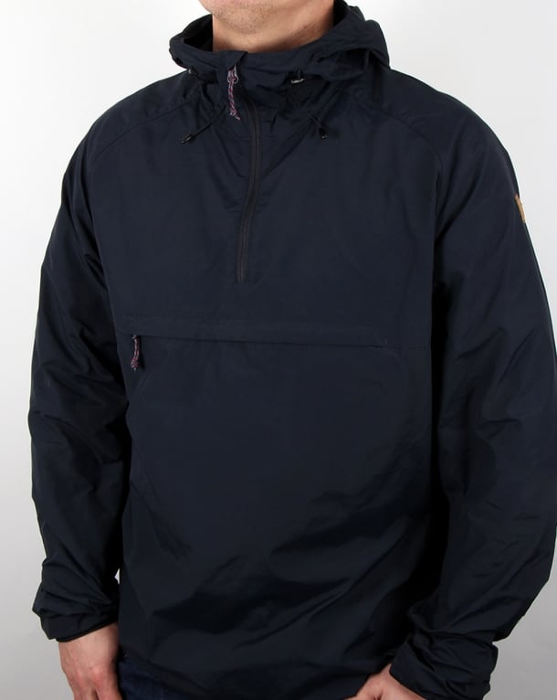 Fjallraven High Coast Wind Anorak Navy Blue
