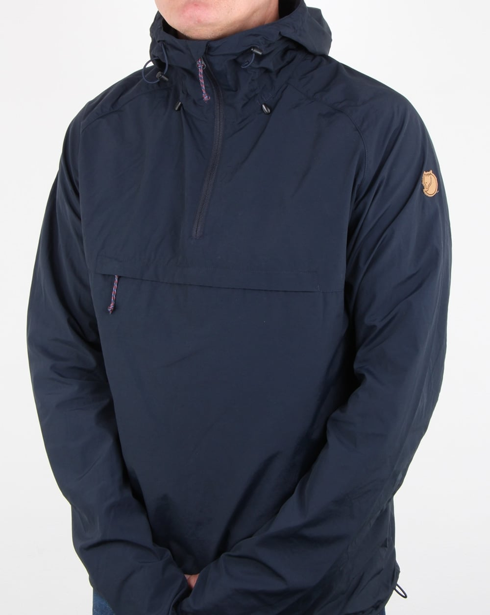 Fjallraven High Coast Wind Anorak Navy Mens Coat