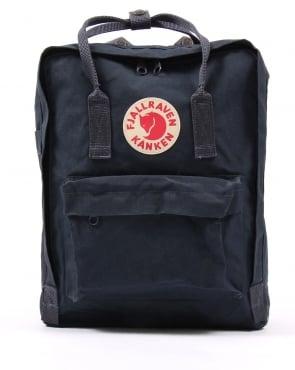Fjallraven Kanken rucksack in Navy