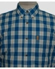 Fjallraven Ovik Button Down Shirt Lake Blue