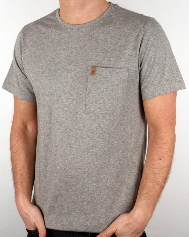 Fjallraven Ovik Pocket T Shirt Grey