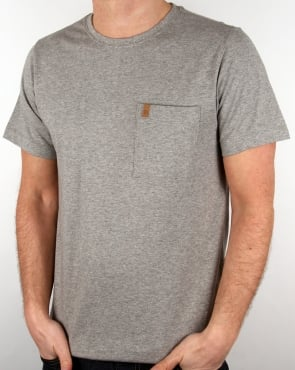 Fjallraven Ovik Pocket T Shirt Grey