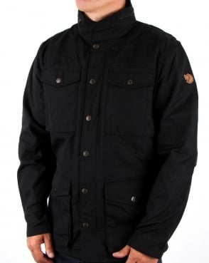 Fjallraven Raven Jacket Black