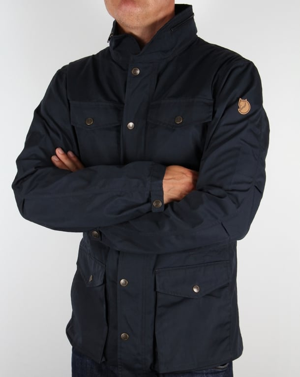 Fjallraven Raven Jacket Dark Navy