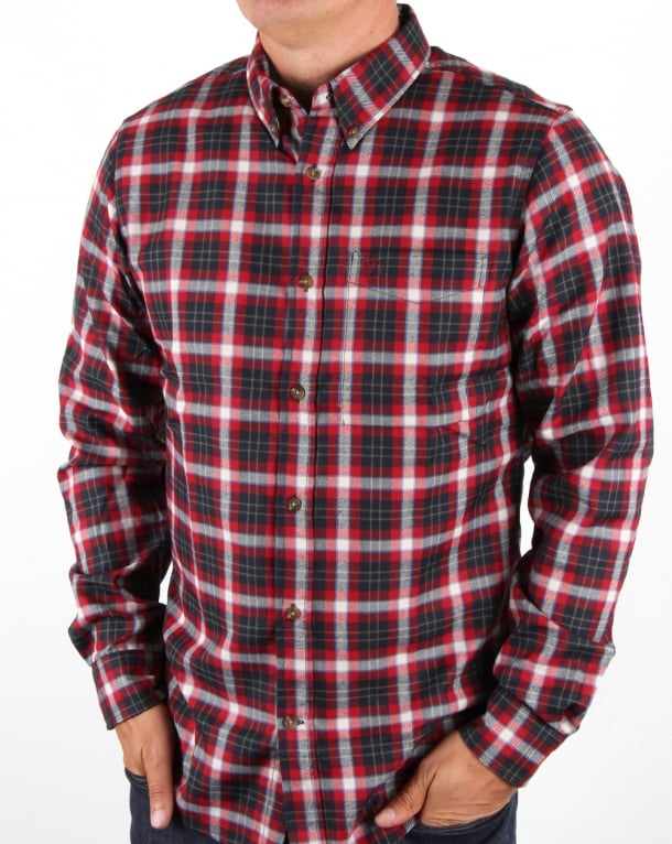 Fjallraven Stig Flannel Shirt Ox Red