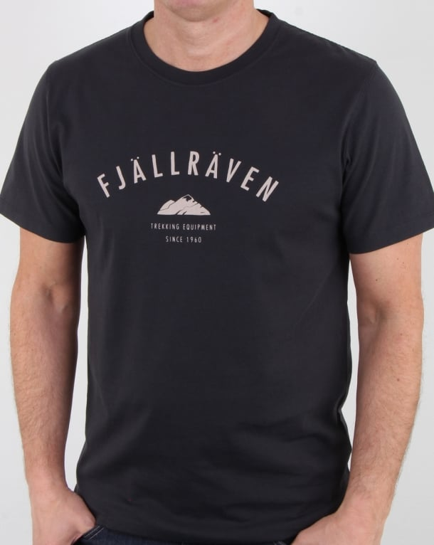 Fjallraven Trekking Equipment T Shirt Dark Navy