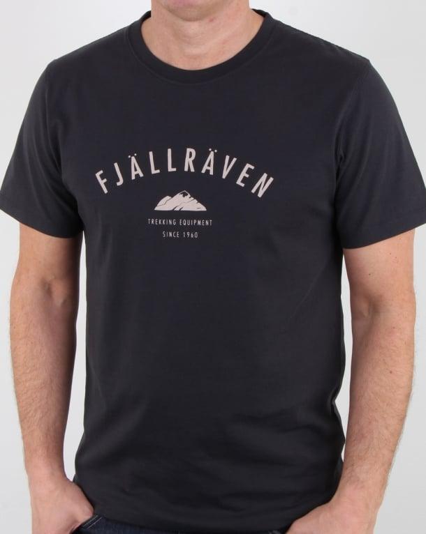 Fjallraven Trekking Equipment T Shirt Dark Navy
