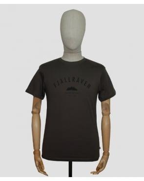 Fjallraven Trekking Equiptment T-shirt Mountain Green