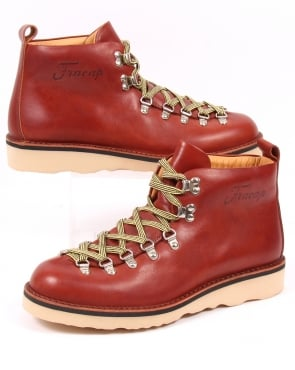 Fracap Scarponcini Leather Boots Arabian Brown