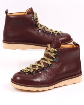 Fracap Scarponcini Leather Boots Dark Brown