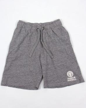 Franklin And Marshall Fleece Shorts Grey Marl