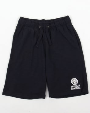 Franklin And Marshall Fleece Shorts Navy