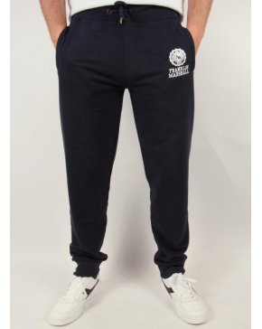 Franklin And Marshall Fleece Tracksuit Bottoms Navy Blue