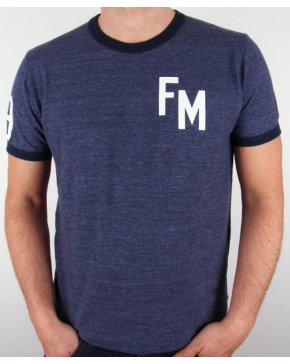 Franklin And Marshall Fm T-shirt Navy Marl