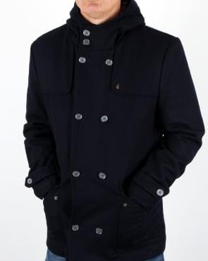 Gabicci Vintage Duffle Coat Navy