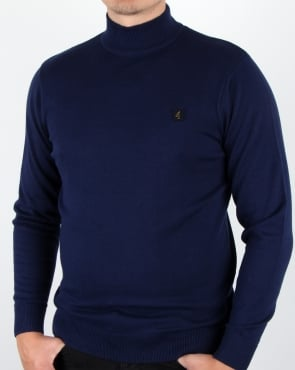 Gabicci Vintage Duke Jumper Surf Blue