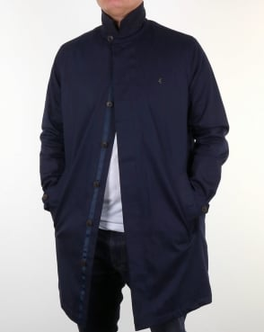 Gabicci Vintage Houghton Winter Mac Navy