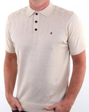Gabicci Vintage Masso Polo Shirt Oat