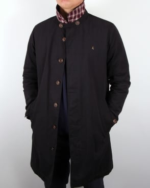 Gabicci Vintage Trench Mac Navy